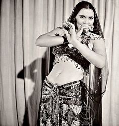 Egyptian Dancer & Film Star Tahia Carioca By Bob Landry, 1942 by Tulipe Noire, Egyptian Women, Egyptian Beauty, Shimmy Shimmy, Egyptian Actress, Vintage Dance, Dance Pictures, Dance Pics, Dance Images, Belly Dance Costumes