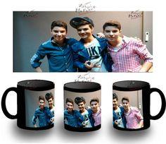 Taza Negra Gemeliers Abraham Mateo Black Mug Tazza Tasse Coupe Mug Taza Sur - Bekiro