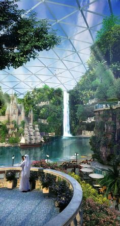 """Amazing Place-To-Be (not yet built).  The Plans For Dubai's """"Biggest Mall On The Planet"""" Are Absolutely Insane"""