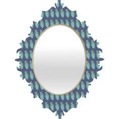 Caroline Okun Corona Baroque Mirror | DENY Designs Home Accessories  #mirror #bedroom #office #home #apartment