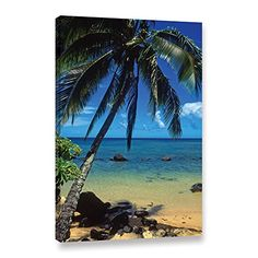 Art Wall Beautiful Animi Beach Gallery Wrapped Canvas by Kathy Yates 24 by 36Inch * Read more reviews of the product by visiting the link on the image. (This is an affiliate link)