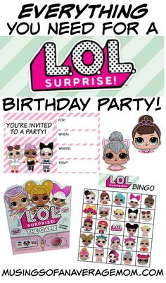 L.O.L. Surprise Birthday Party