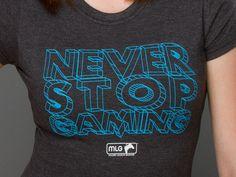 J!NX : MLG Never Stop Women's Tee