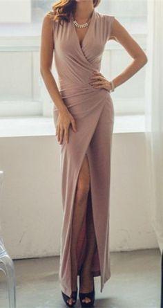 Furcal Sleeveless Maxi Dress