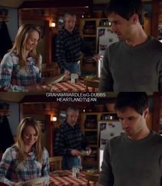 G-Dubbs Fan Page - HEARTLAND 715 Ty washing the dishes.