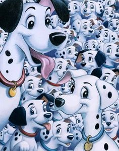 Most people seem to forget about 101 Dalmations' Pongo and Perdita as a Disney animal couple. Description from pinterest.com. I searched for this on bing.com/images