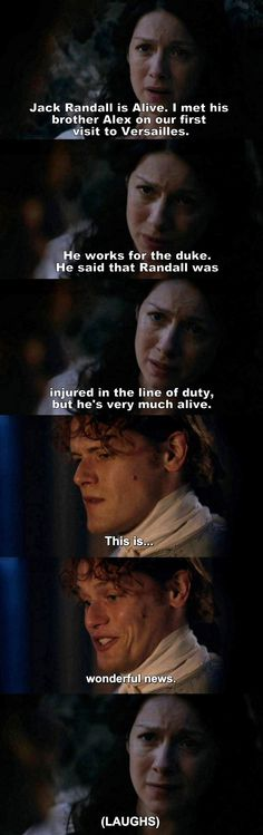 Outlander - S02E04- Jamie & Claire