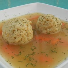 How To Make Matzo Ball Soup Like Your Bubbe | The secret to light and fluffy matzo balls and our best recipes for homemade Matzo Ball Soup.