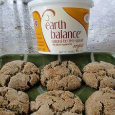 Pomegranate Molasses Crinkles | Made Just Right by Earth Balance #vegan #earthbalance #recipe