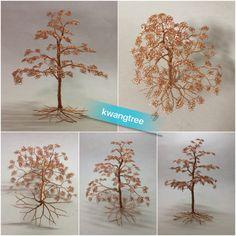 가지많은 나무 #철사공예 #와이어아트 #와이어공예 #WireArt #WireCrafts #ワイヤーアート #針金細工 #はりがねさいく #Wiretree #WireWood #树 #에나멜선 #漆包线 #EnamelWire #エナメルワイヤ