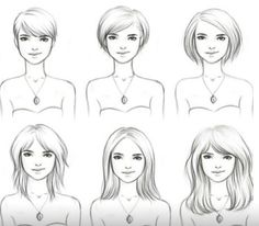 Growing out your hair? Short to long hair cuts! PHASES