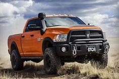 It's big, it's mean, it's the AEV Prospector package for the heavy duty Ram pickup trucks.