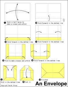 A4 envelope fold