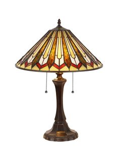 "Mission Julian 21.7"" H Table Lamp with Empire Shade 