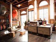 Rudys barbershop, New York City hairdresser fashion cafe