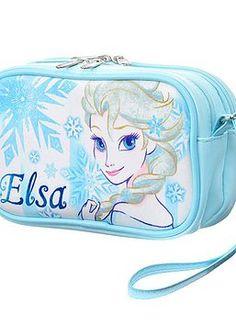 026323ddc9 Disney Frozen Elsa Media bag. Fits compact camera and cell phones.