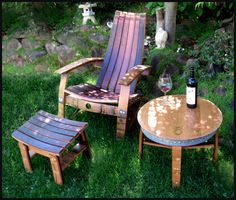 Barrel Concepts Wine Barrel Furniture Tables Wine Barrel Chairs