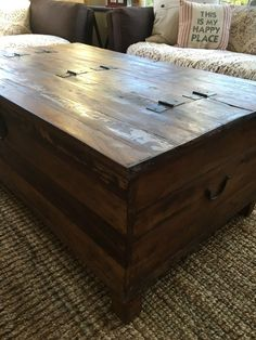 Box Trunk Coffee Table