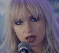 """Hayley Williams makeup  ~ paramore ~   """"Hard Times""""  pmore 2017"""