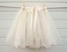 Vintage lace Tutu Skirt...for me!  Rehearsal dinner?