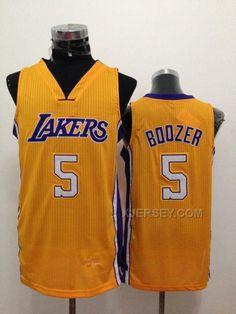 http://www.xjersey.com/lakers-5-boozer-gold-new-revolution-30-jerseys.html Only$34.00 #LAKERS 5 BOOZER GOLD NEW REVOLUTION 30 JERSEYS Free Shipping!