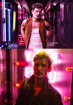 """Sam Webb in """"West End Boys"""" by Joseph Sinclair for the October-November 2015 Issue of Reflex Homme Magazine"""