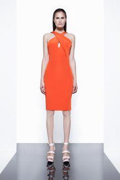 Cushnie et Ochs Resort 2012 Fashion Show - Alla Kostromichova