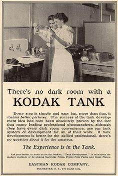developing/tech (1909) published in Country Life in America, for Kodak Film Developing Tank
