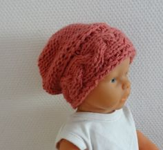 Newborn Hipster Hat Baby Fall Winter sacking Hat by IfonBabyLand, $15.00