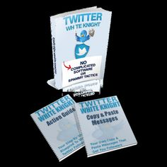 Twitter White Knight-Copy Paste Discover How To Ethically 'Steal' Thousands Of Followers From The Twitter 'Gurus' - Without Being Banned, Sued Or Thrown In Jail!