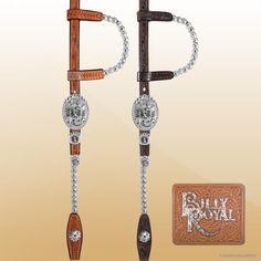 🐎 Billy Royal® Bismarck SP Showman Headstall