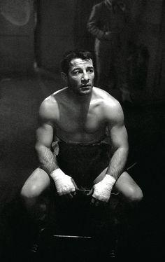 Stanley Kubrick - Boxer Rocky Graziano, New York City, 1949.