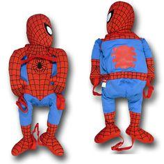 Spiderman Plush Backpack Buddy