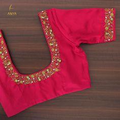 Brocade Blouse Designs, Kerala Saree Blouse Designs, Best Blouse Designs, Simple Blouse Designs, Stylish Blouse Design, Designer Blouse Patterns, Blouse Neck Designs, Hand Work Blouse Design, Embroidered Blouse