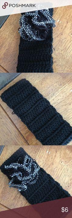 Black headband Never worn. Handmade Handmade Accessories Hair Accessories