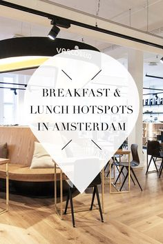 """Which hotspots to visit for breakfast or lunch in Amsterdam? On travel blog http://www.yourlittleblackbook.me there's a list of must visit hotspots, restaurants and cafes. Planning a trip to Amsterdam? Check http://www.yourlittleblackbook.me/ & download """"The Amsterdam City Guide app"""" for Android & iOs with over 550 hotspot…"""