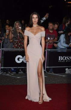 Bella Hadid hit up HUGO BOSS Model of the Year Award at the GQ Awards