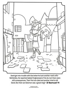 Download This Free Coloring Page Of Samuel Anointing David