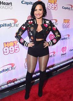Demi Lovato R.I.P Fashion 2015 | #Bollywood #Hollywood #Fashion #Celebrities