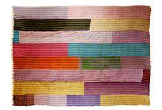 silk quilt! lovely!