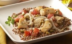 Chicken with Quinoa
