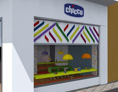 Chicco corner (shop in shop) in Athens.