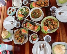 3 days in krabi itinerary - seafood lunch
