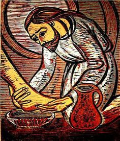 Jesus Christ of Nazareth Religious Images, Religious Icons, Religious Art, Jesus Art, Jesus Christ, Christian Artwork, Christian Paintings, Biblical Art, Last Supper