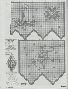 View album on Yandex. Filet Crochet Charts, Crochet Borders, Crochet Stitches, Doily Patterns, Easy Crochet Patterns, Crochet Designs, Crochet Curtains, Crochet Doilies, Crochet Flowers