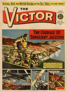 The Victor. The Courage of Sergeant Jackson. Real stories retold.
