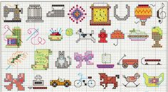 cross stitch pattern chart