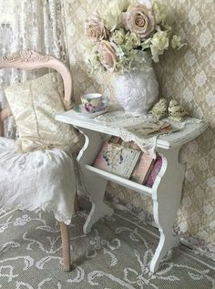 a little table like this for the bathroom