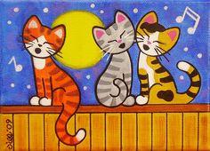 〽️Moonlight Serenade by That's My Cat, via Flickr