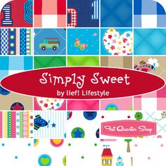 Simply Sweet Yardage lief! Lifestyle for Quilting Treasures